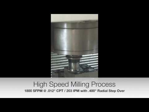 Mil-Tec Freedom Cutter machining 304 SS
